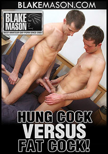 Hung Cock Versus Fat Cock cover
