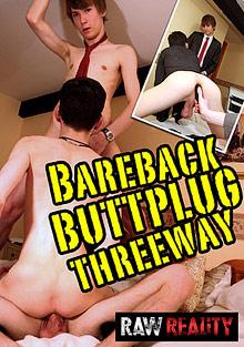 Bareback Buttplug Threeway cover