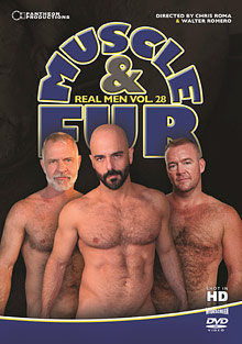 Real Men 28: Muscle And Fur cover