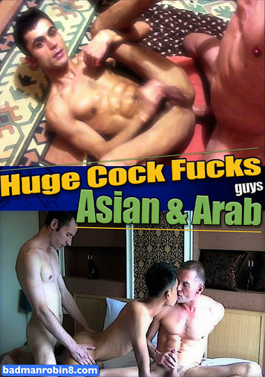 Huge Cock Fucks Asian And Arab Guys cover