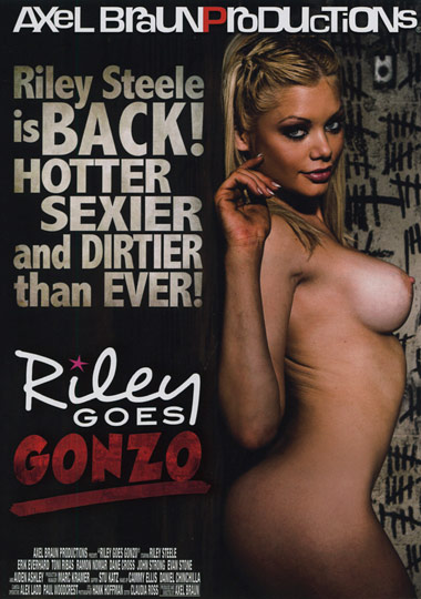 Riley Goes Gonzo Front Cover