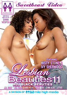 Lesbian Beauties 11: All Black Beauties cover