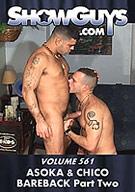 Showguys 561: Asoka And Chico Bareback 2