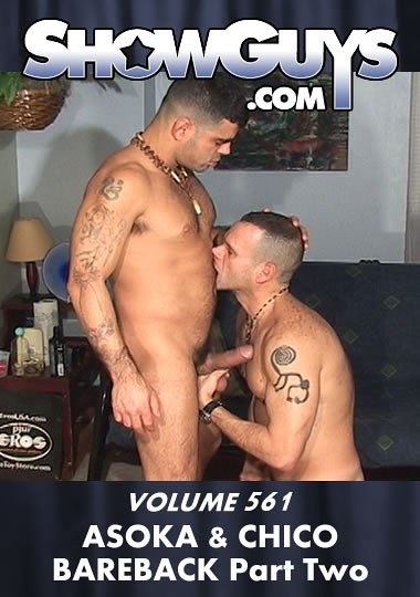 Showguys 561: Asoka And Chico Bareback 2 cover