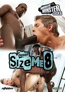 Bareback Monster Cocks: Super Size Me 8 cover