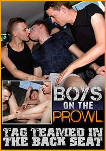 Boys On The Prowl 31: Tag Teamed In The Back Seat cover