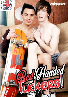 Brit Ladz: Red Handed Fuckers cover