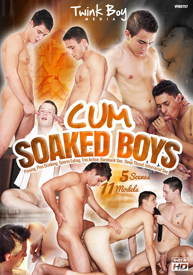 Cum Soaked Boys cover
