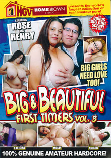 Big And Beautiful First Timers 3 cover