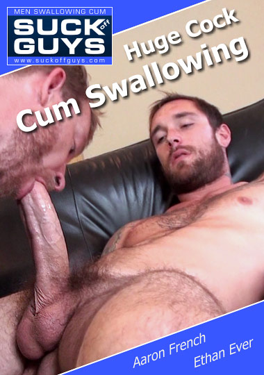 Huge Cock Cum Swallowing cover