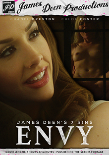James Deen's 7 Sins: Envy cover