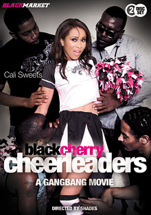 Black Cherry Cheerleaders: A Gangbang Movie cover