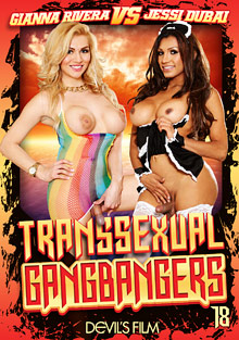 Transsexual Gang Bangers 18 cover