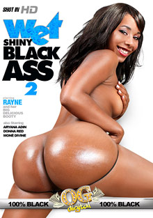 Wet Shiny Black Ass 2 cover