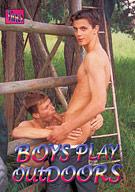 Boys Play Outdoors