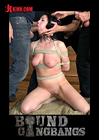 Bound Gangbangs: Hot Girl With Big Natural Tits Fantasizes About Rough Gangbang