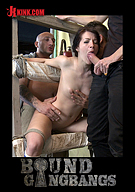 Bound Gangbangs: The Perfect Picture: Tiny Russian Girl Gangbanged, Two Dicks In Ass