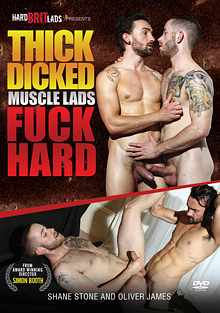 Thick Dicked Muscle Lads Fuck Hard cover