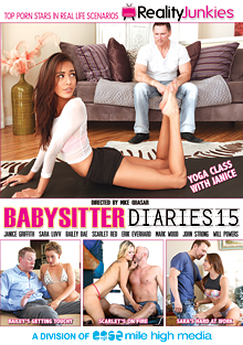 Babysitter Diaries 15 cover
