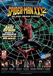 Spider-Man XXX 2 An Axel Braun Parody cover