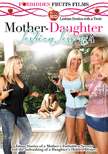 Mother-Daughter Lesbian Lessons 4 cover