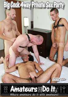 Big Cock 4Way Private Sex Party cover