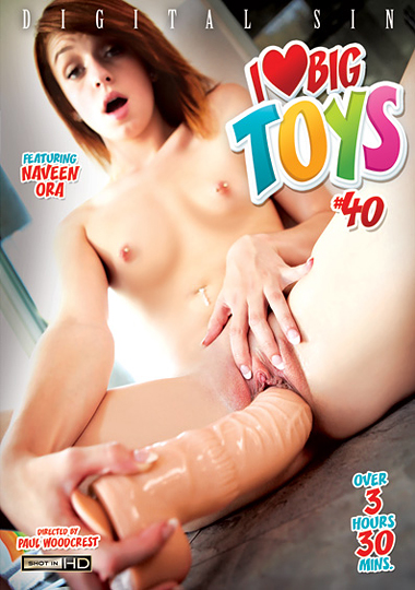 I Love Big Toys 40 cover