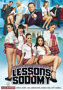 Schoolgirls And Teachers 2: Lessons In Sodomy cover