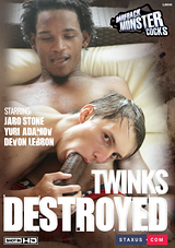 Bareback Monster Cocks: Twinks Destroyed