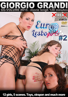 Euro Lesbo Girls 2 cover
