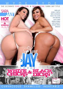 Sara Jay Loves White Chicks And Black Dicks