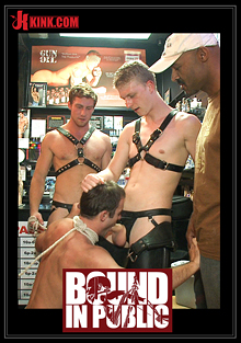 Bound In Public: Sexy Stud Cameron Kincade - The Folsom Street Whore cover