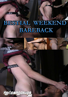 Bestial Weekend Bareback cover