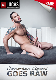 Jonathan Agassi Goes Raw cover