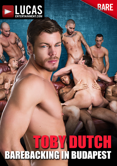 Toby Dutch: Barebacking In Budapest cover