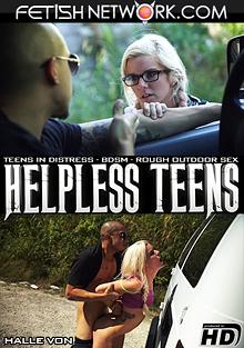 Helpless Teens: Halle Von cover