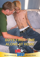 Boys First Time Alone At Home