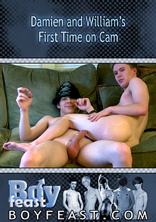 Damien And William's First Time On Cam cover