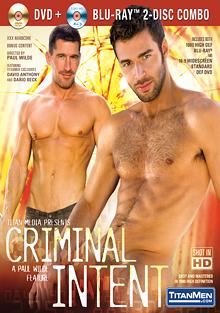 Criminal Intent cover