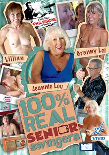 100 Percent Real Senior Swingers cover