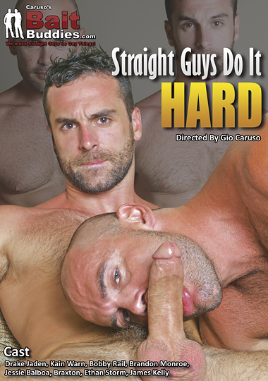Straight Guys Do It Hard cover