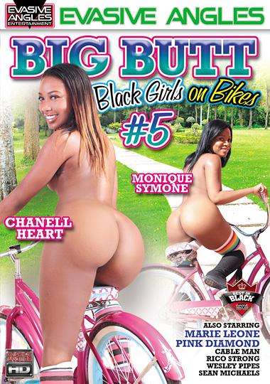 Big Butt Black Girls On Bikes 5 cover