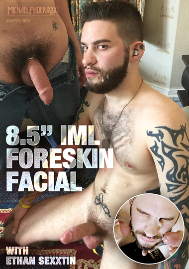 8.5 Inches IML Foreskin Facial cover