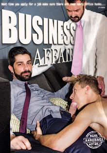Business Affair cover