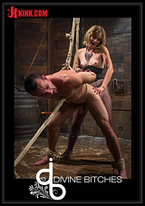 Divine Bitches: Sadistic Lifestyle Dominatrix Abuses And Fucks Barn Boy