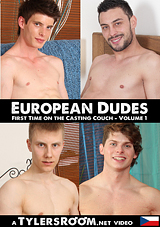 European Dudes First Time On The Casting Couch