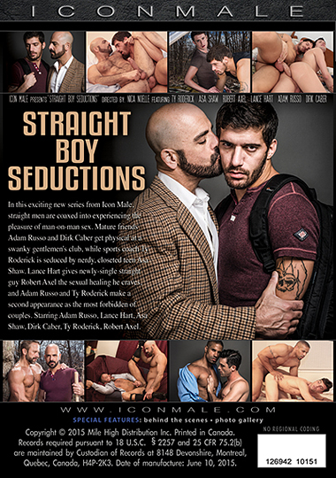 Straight Boy Seductions 1 Cover Front