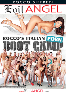 Rocco's Italian Porn Boot Camp cover