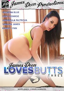 James Deen Loves Butts 3 cover