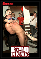 Bound In Public: Hot Art Thief With A Big Cock Beaten And Fucked Into Submission